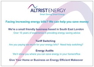 Altrist Energy Advice Services -­‐ Fees